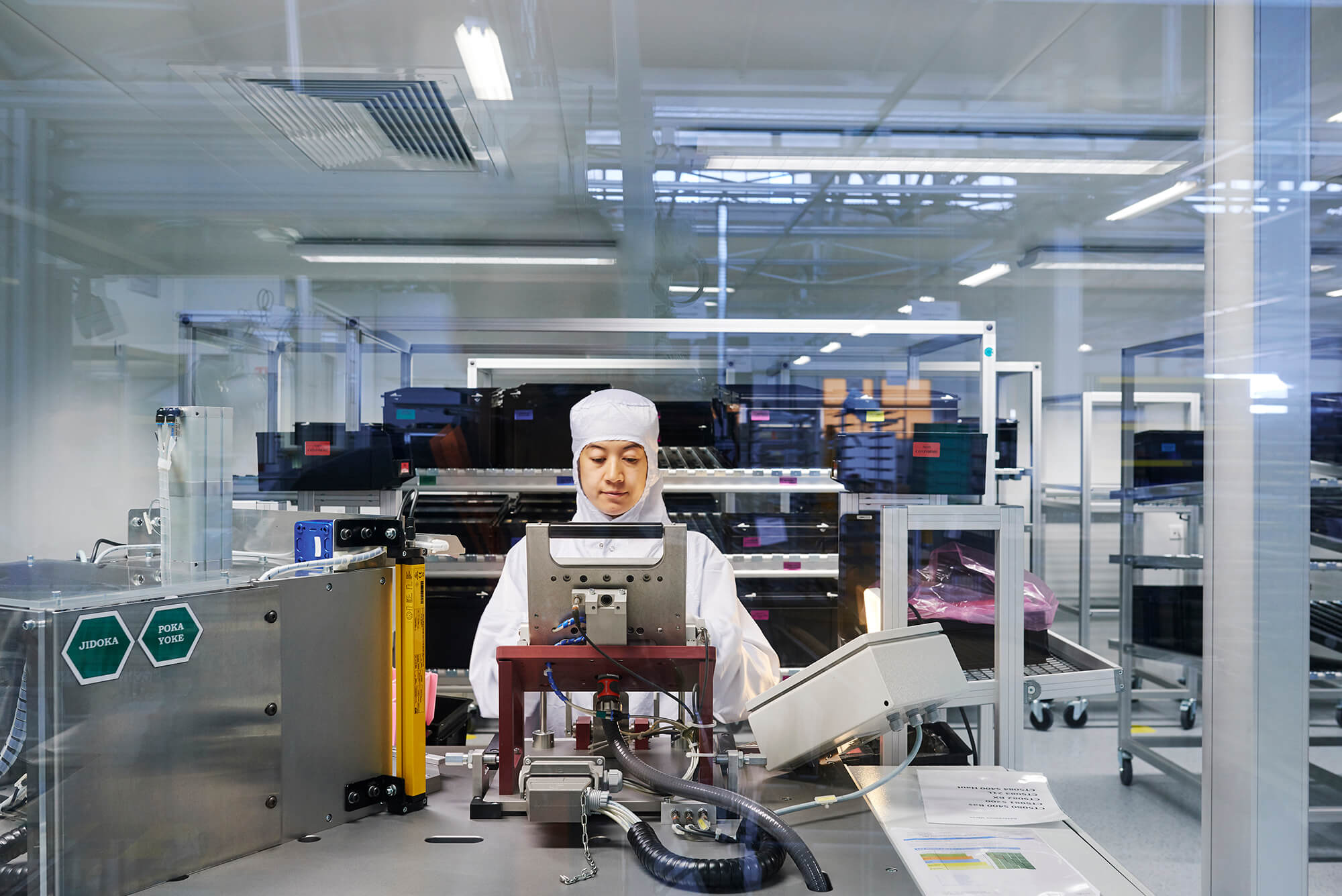 Gaggenau factory Lipsheim the clean room