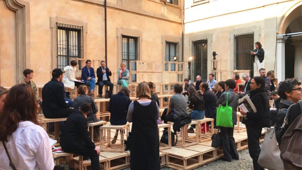 Disegno and British Council at Milan's Atelier Clerici
